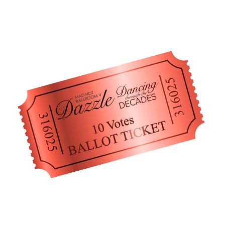 Dazzle 2017 Ballot Ticket - 10 Votes