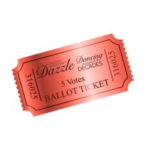 Dazzle 2017 Ballot Ticket - 5 Votes